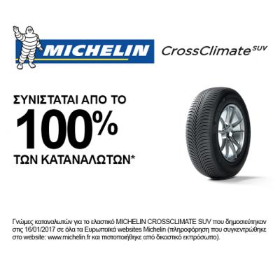 MICHELIN 225/65R17 CROSSCLIMATE 100 H